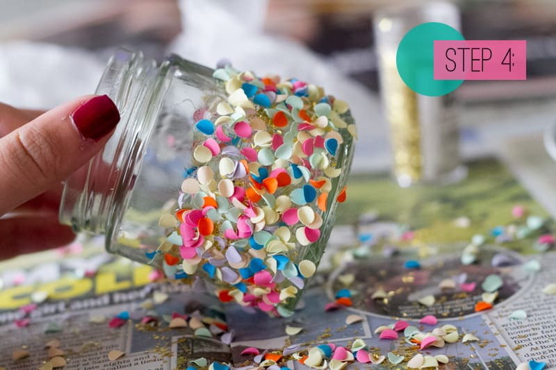 Confetti Jar Place Setting DIY-4
