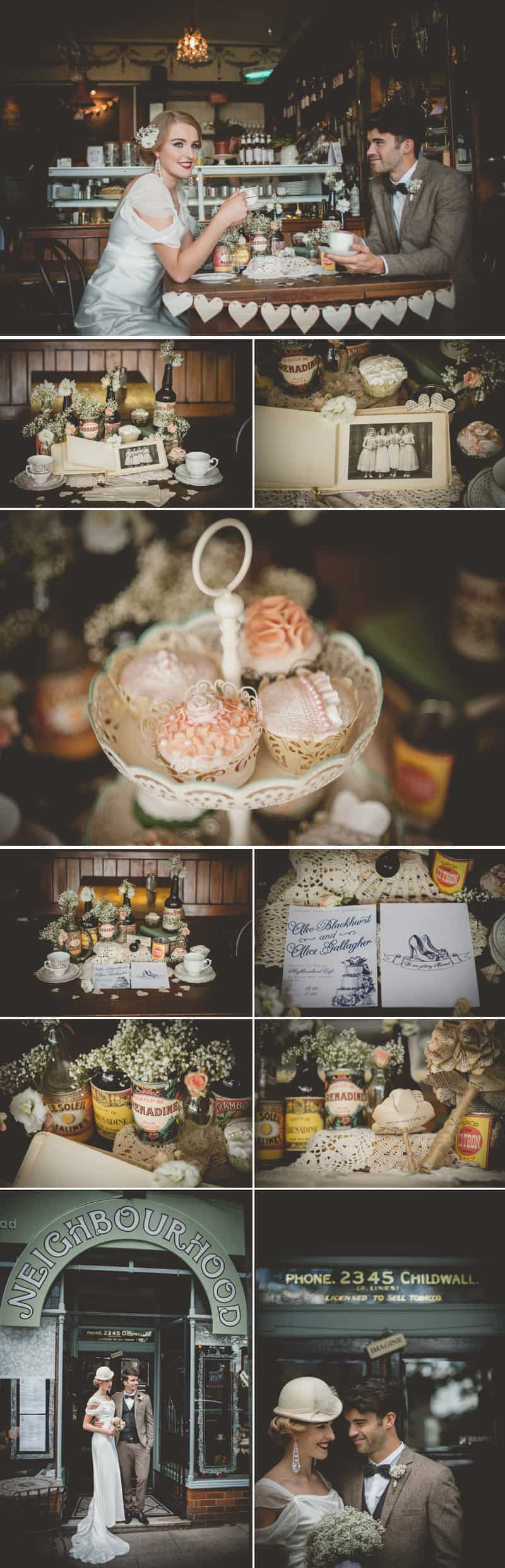 1940'S Parisian Styled Shoot 3