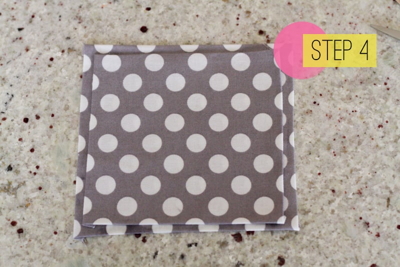 DIY How To Make A Bow Tie Polka dot Wedding DIY-4