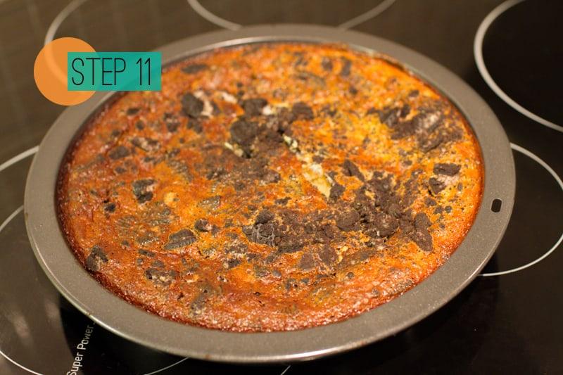 DIY Oreo Cheesecake Chocolate Dessert Pudding Food-11