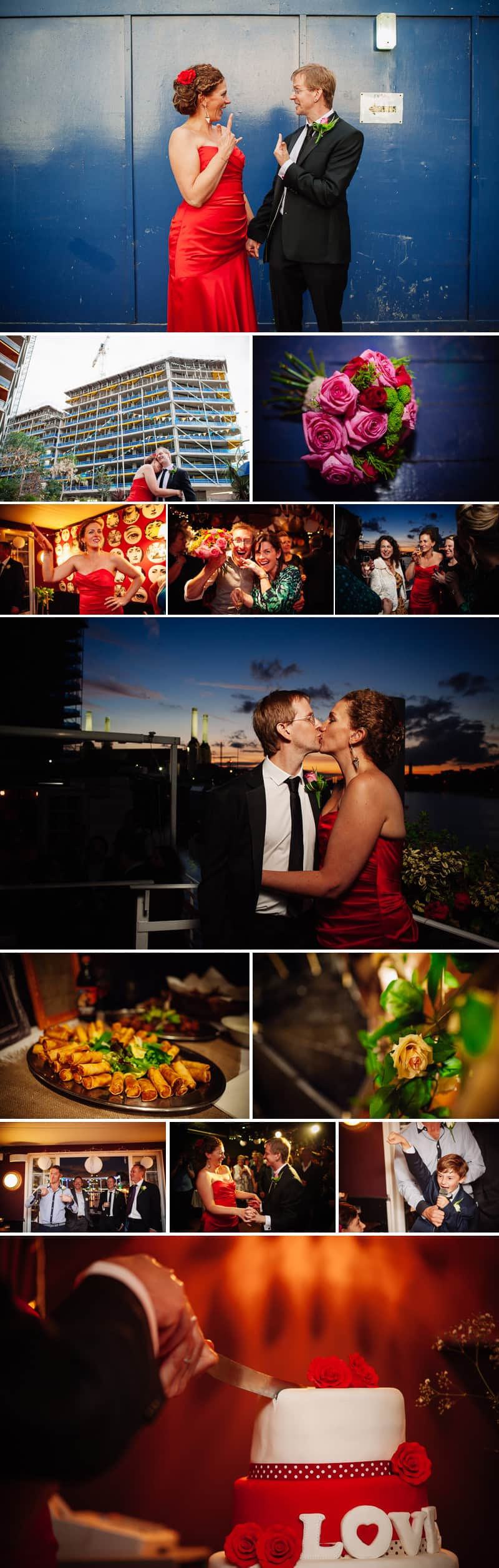 Battersea Barge wedding