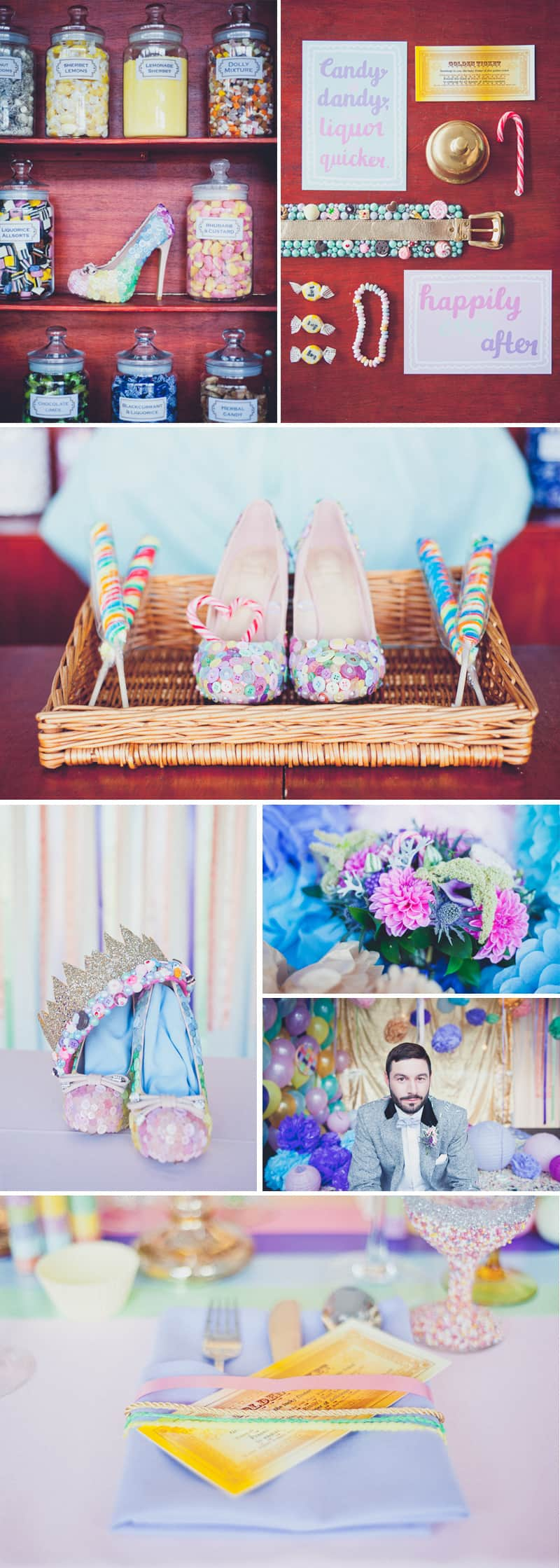 Willy Wonka Weird Wonderful Wedding World 1