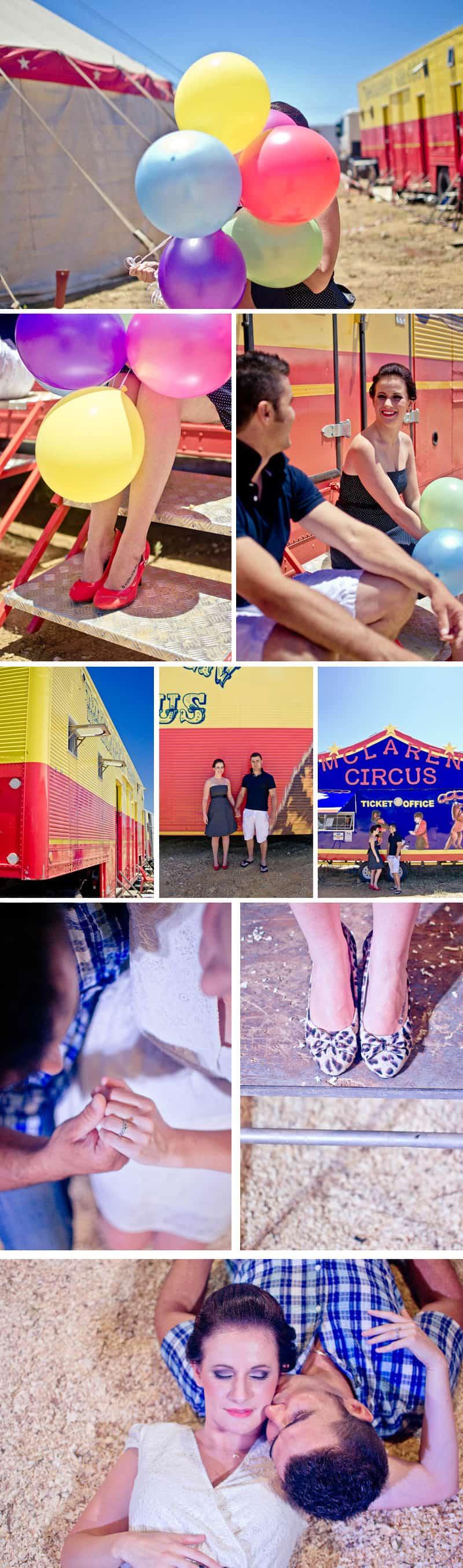Erna Loock Circus Engagement