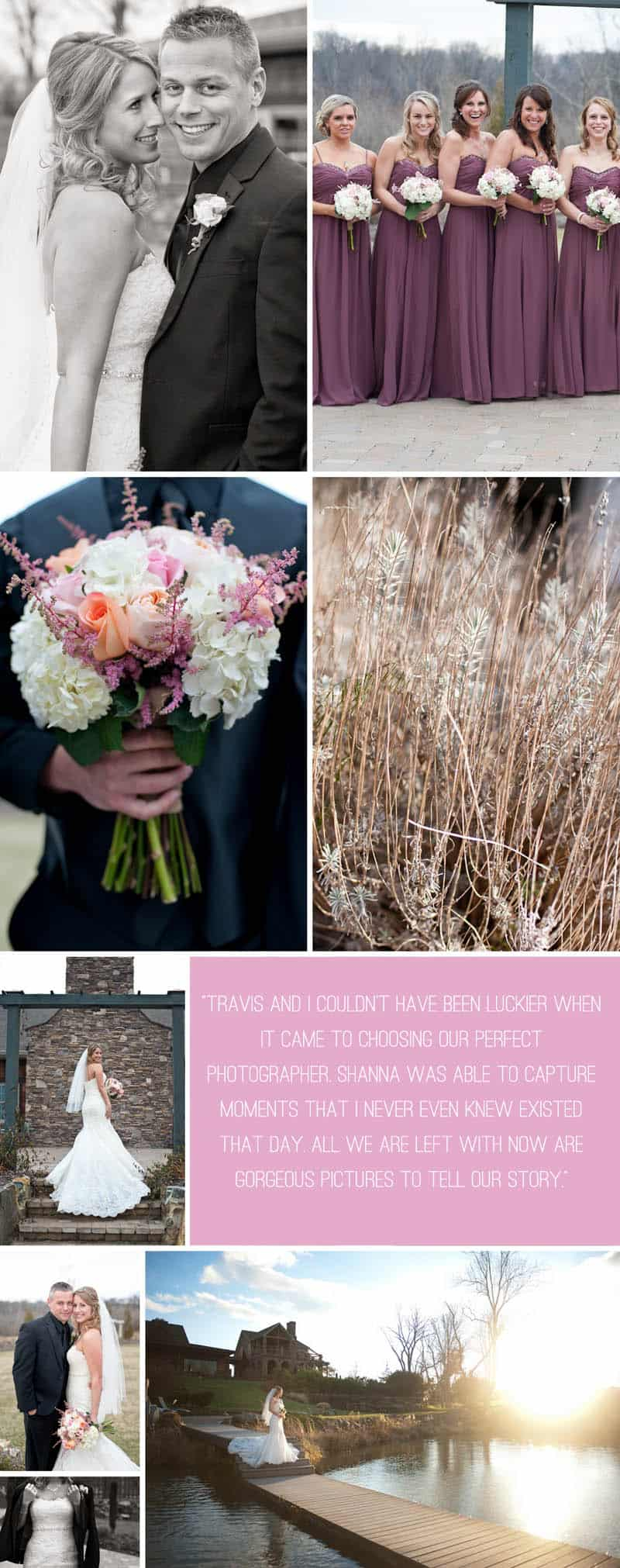 A Rustic Winter Wedding Final