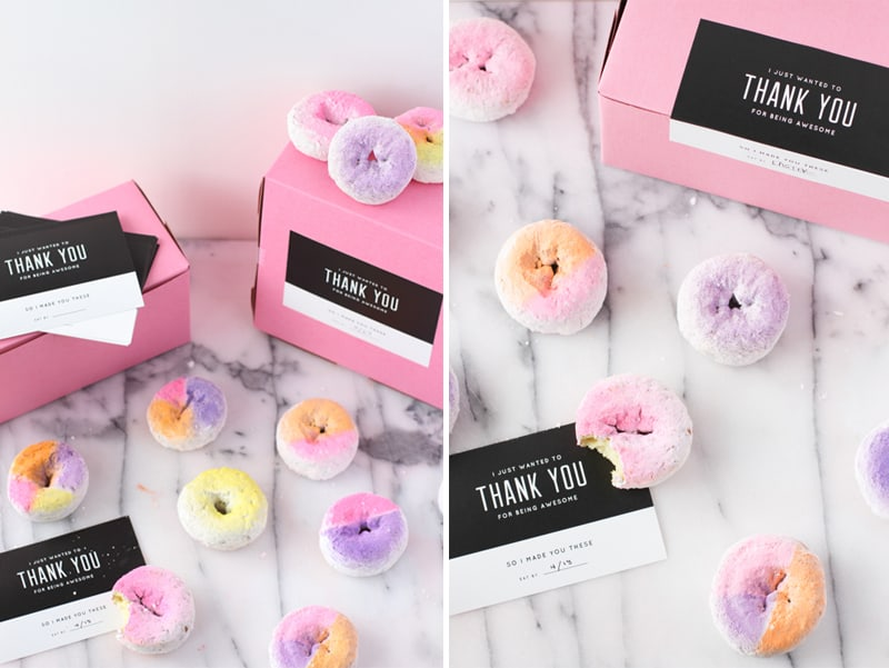 Ombre Donuts