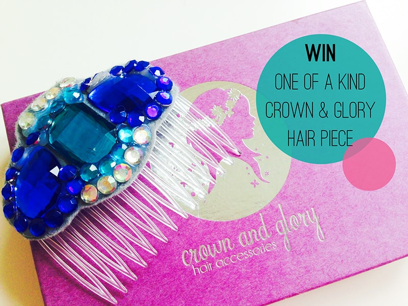 WIN 1 free Crown & glory Head Clip Custom Comb