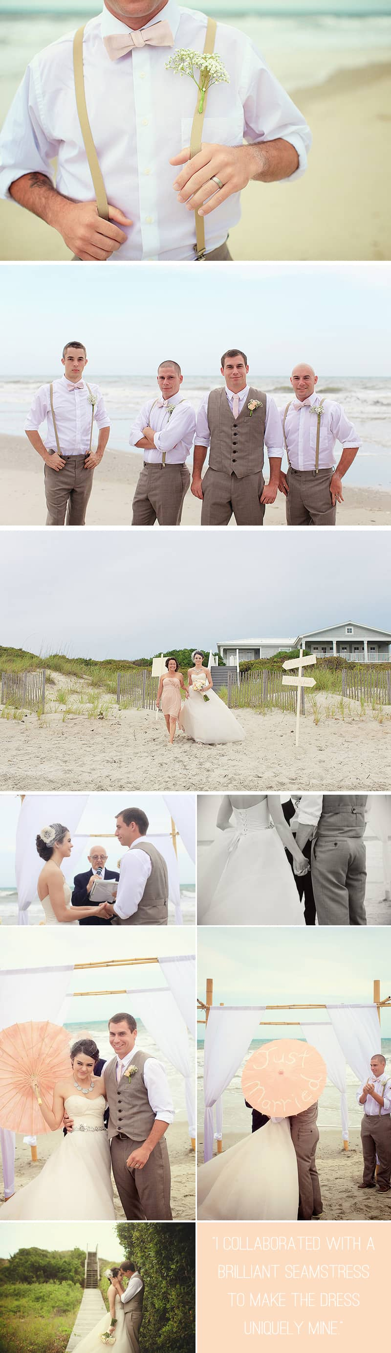 An Intimate Beach Wedding 1