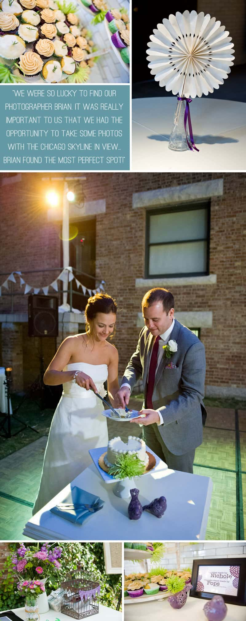 A Modern Wedding Dressed in Vintage Clothes 5