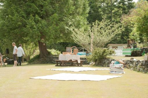 DIY garden rustic wedding-12