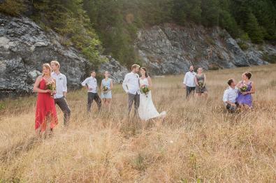 DIY garden rustic wedding-29