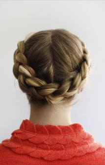 Halo Braid tutorial Wedding chicks