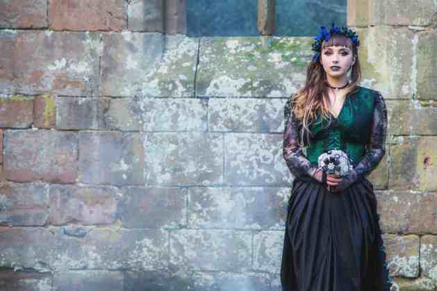 Gothic Styled Shoot-22