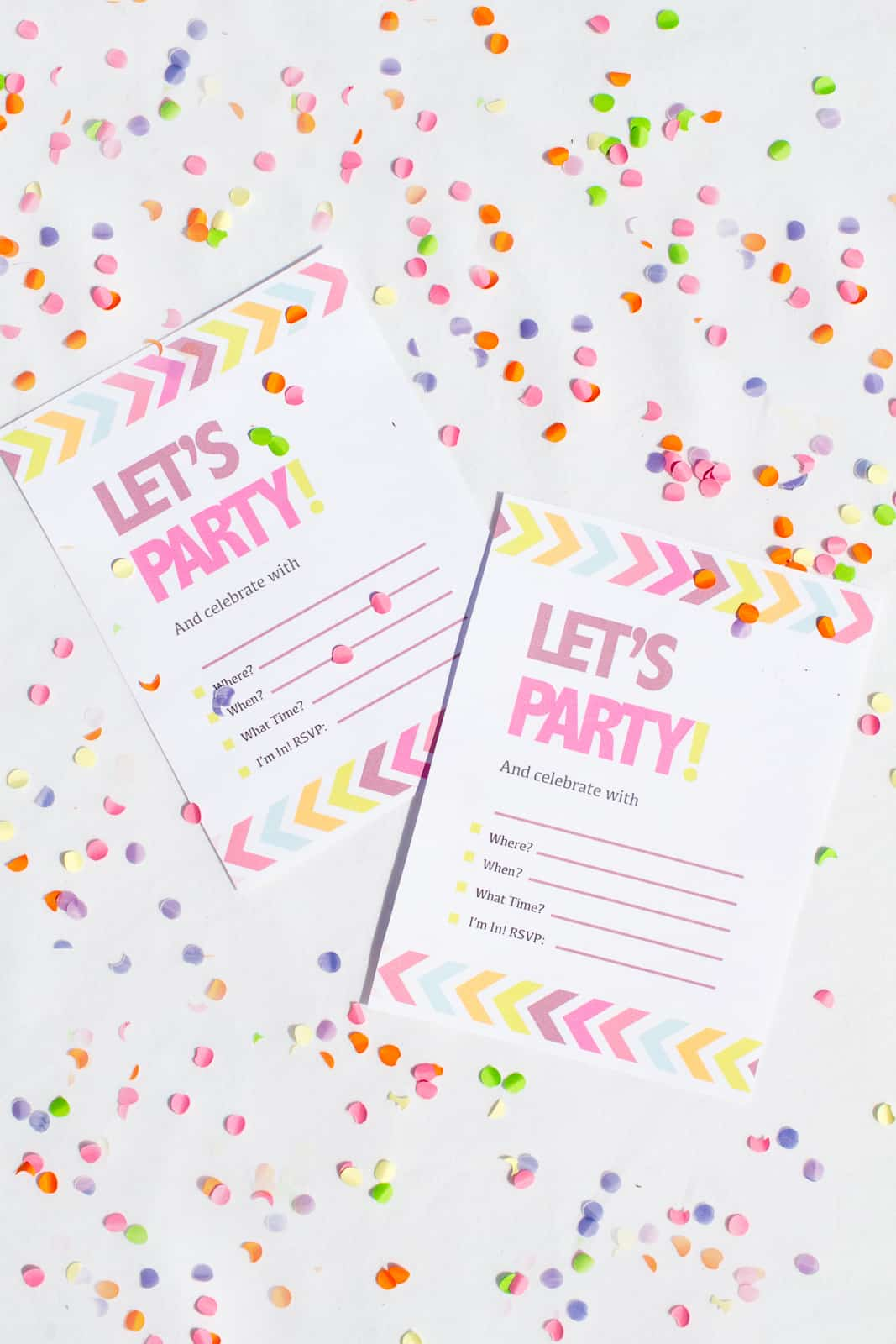 Hen Party Bachelorette Party Neon Invitations