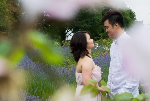 Cute Quirky Engagement Shoot Valentines Park-12