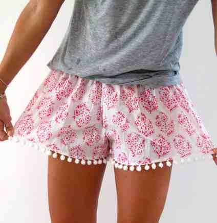 Pom pom shorts festival