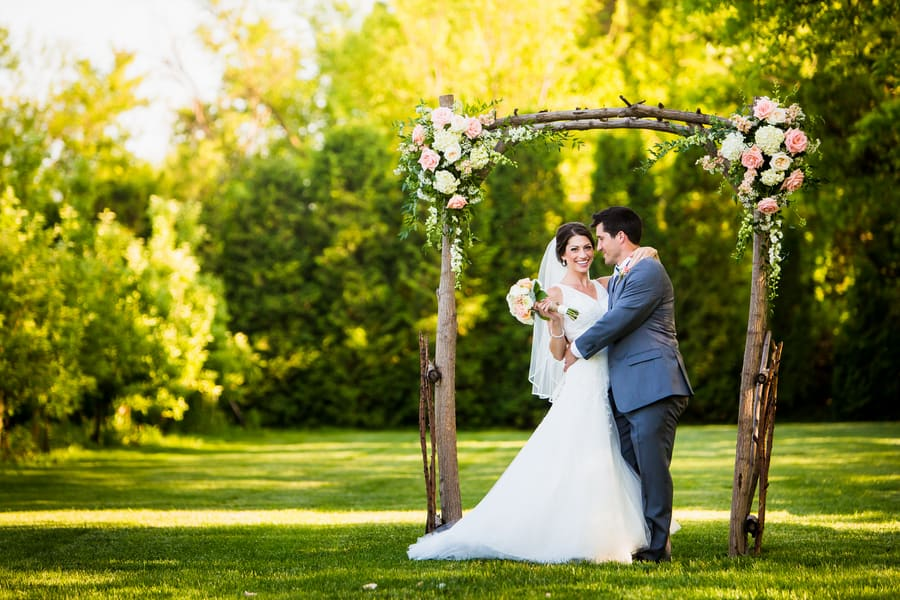 A Rustic Country Romantic Apple Orchard Barn Wedding Indiana 37