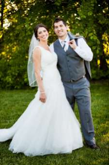 A Rustic Country Romantic Apple Orchard Barn Wedding Indiana 40