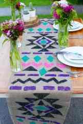 Aztec Table Runner DIY