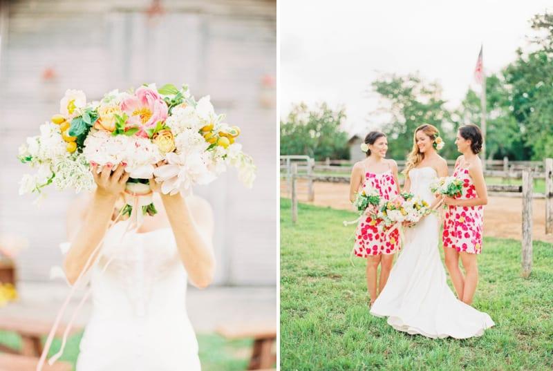 Citrus Wedding Inspiration