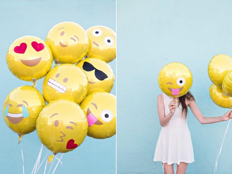 DIY Emoji Balloons by Studio DIY