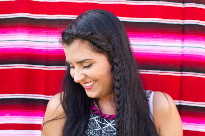 DIY Side Braid Hair Tutorial Plait Easy & Quick 2