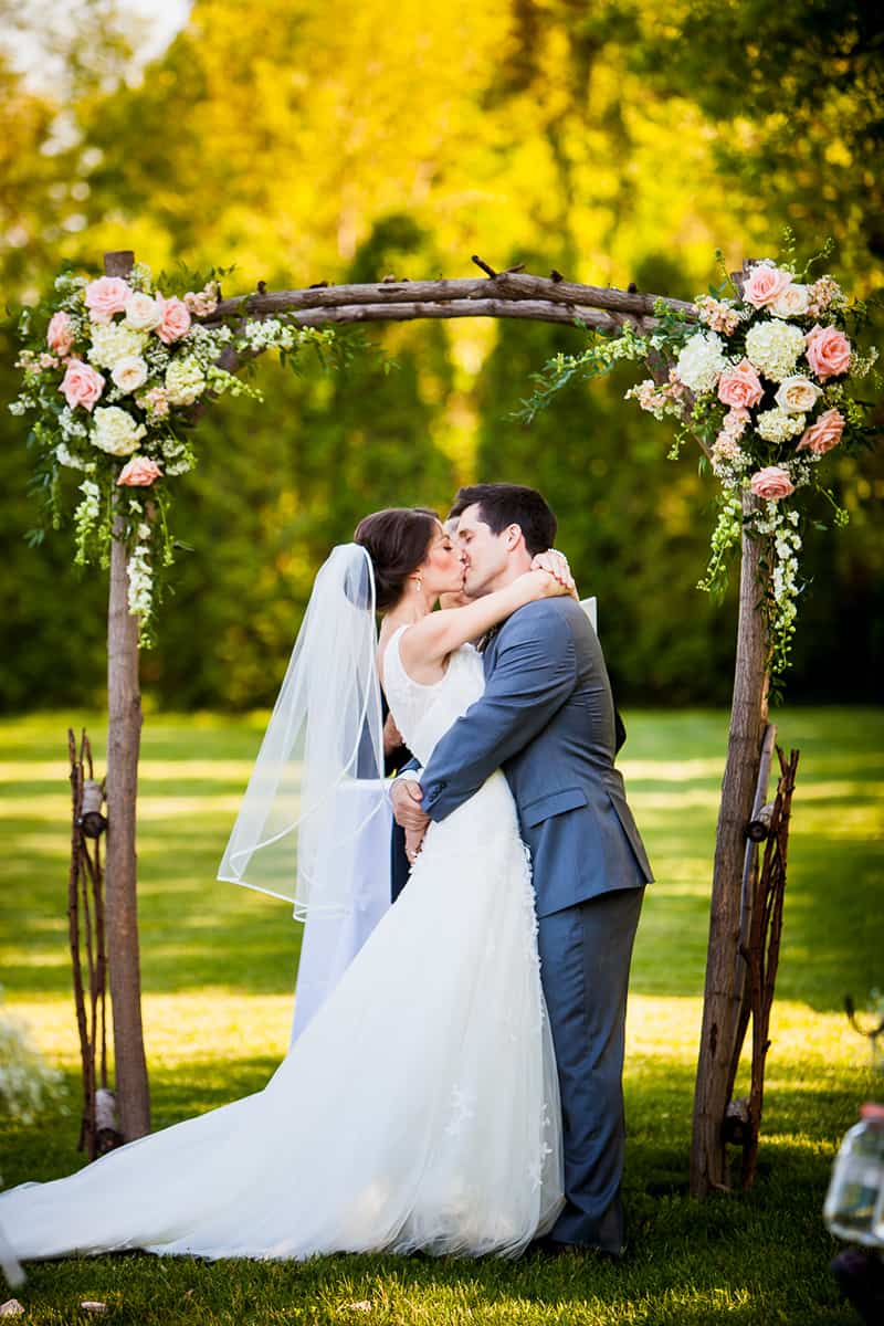 A Rustic Country Romantic Apple Orchard Barn Wedding