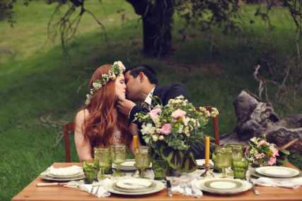 Irish St Patricks Day Styled Wedding Shoot 33