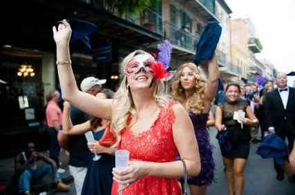 New Orleans Wedding, second line wedding parade, brooch bouquet, diy wedding invitations, masquerade_-64