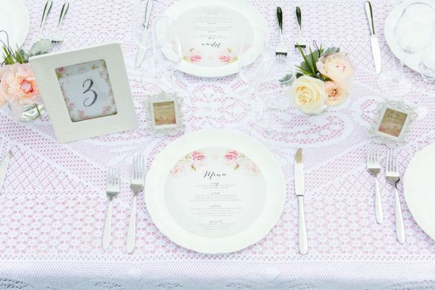 Romantic Blush Pink Styled Shoot Blushing Bride peach colour scheme 3
