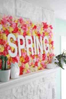 Spring Wall Sign DIY