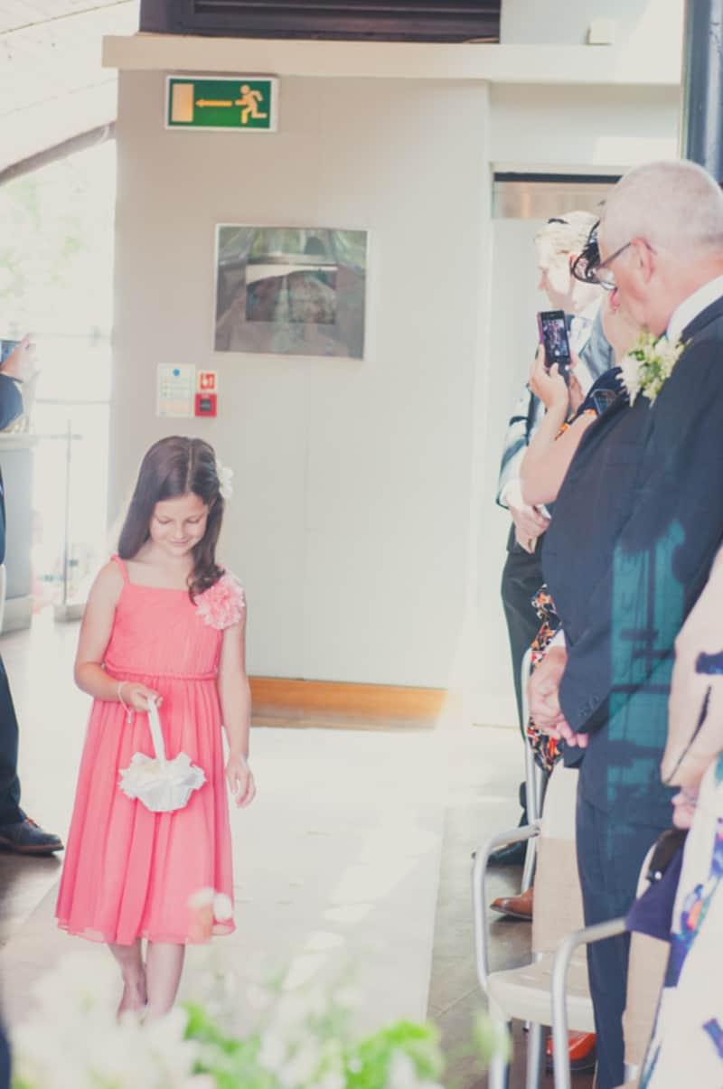 Pretty Pink & Classy Bridesmaids Dresses