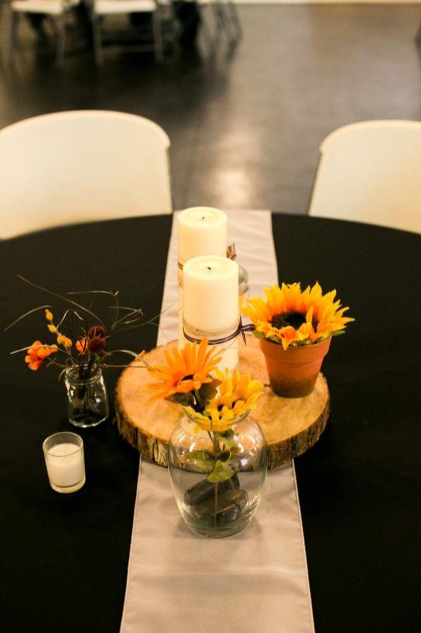 A DIY Rustic Sunflower Wedding (2)