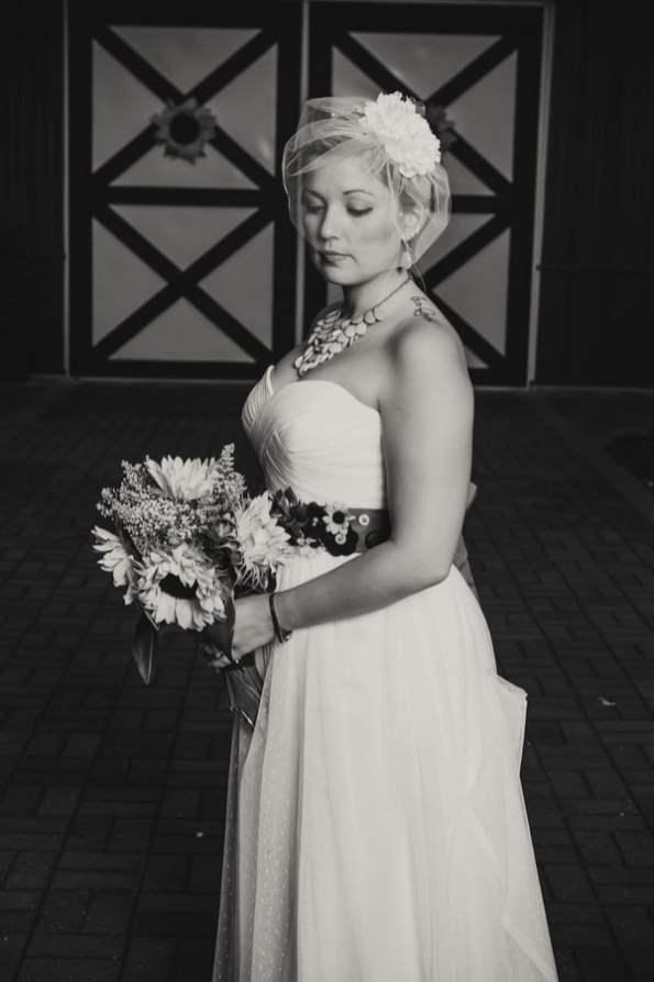A DIY Rustic Sunflower Wedding (25)