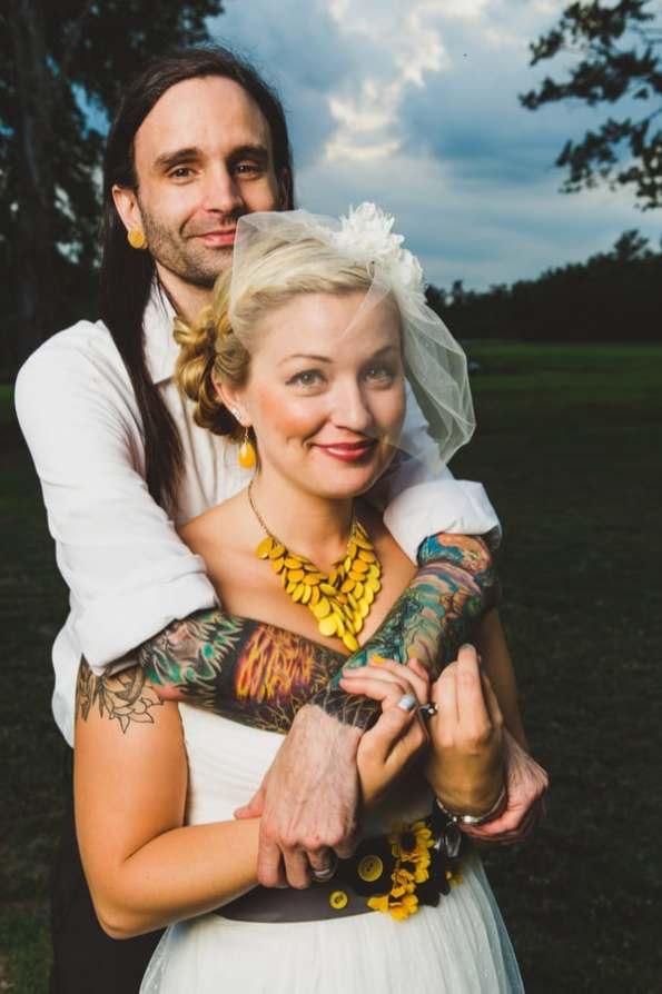 A DIY Rustic Sunflower Wedding (27)