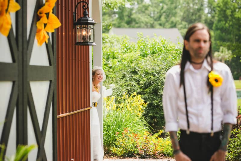 A DIY Rustic Sunflower Wedding (5)