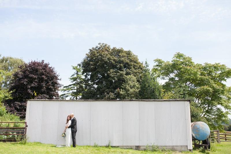A Handmade & Laid-back Backyard Wedding in a Tipi (20)