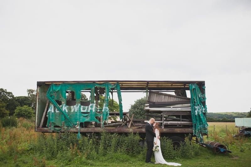 A Handmade & Laid-back Backyard Wedding in a Tipi (35)