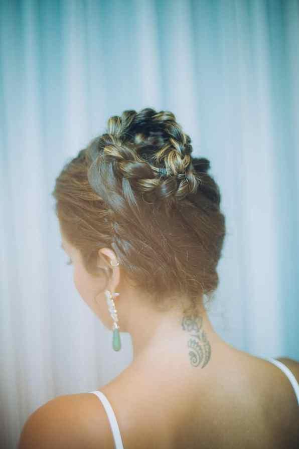 Braided Hairstlye unique plait hair ideas wedding