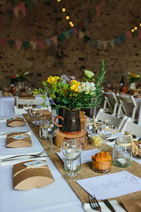 A Charming English Barn Wedding
