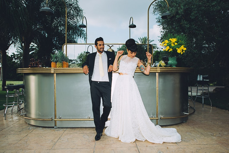 Pineapple Styled Summer Wedding Inspiration Bridal Fashion Unique Bride-27