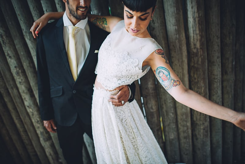 Pineapple Styled Summer Wedding Inspiration Bridal Fashion Unique Bride-33