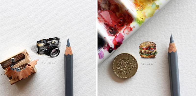 Postcards for ants