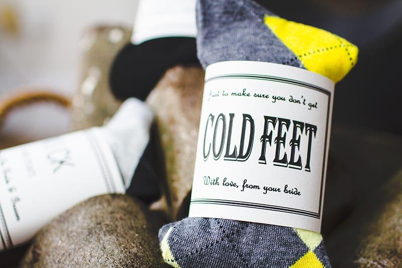Cute n Crafty Groomsmen Gift Socks-2