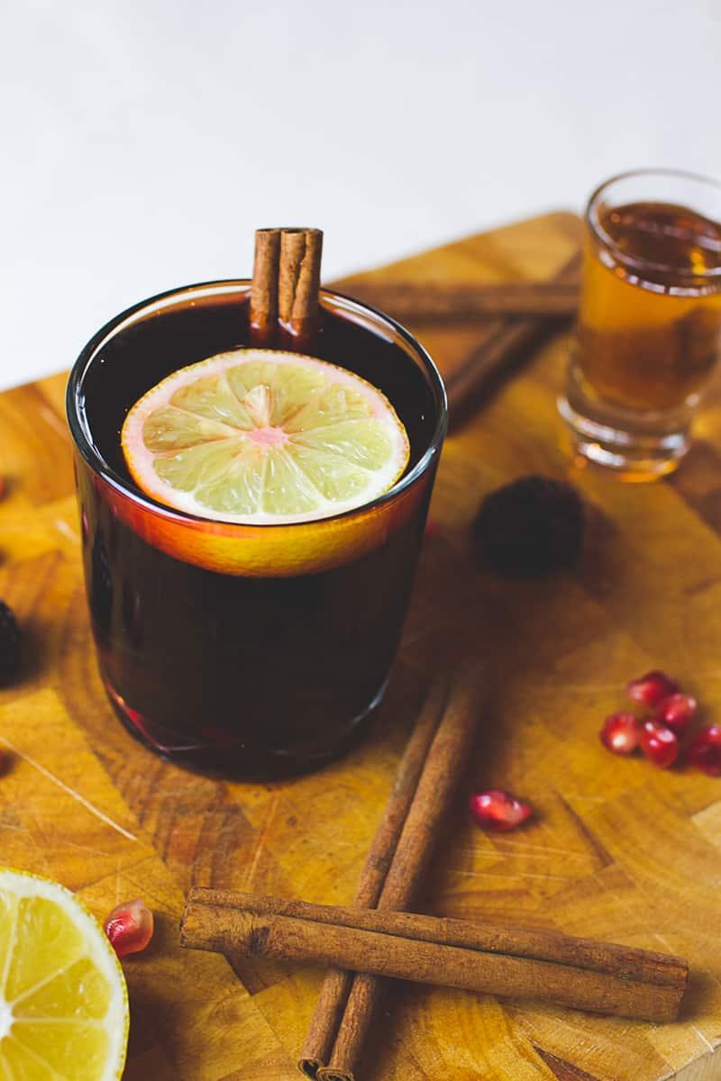 Red Wine Cocktail Recipe Winter Warmer