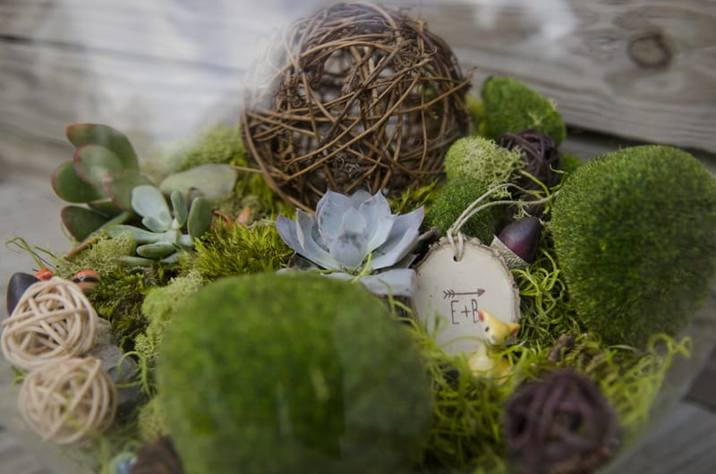 A Whimsical nature inspired wedding with woodland animals (5)