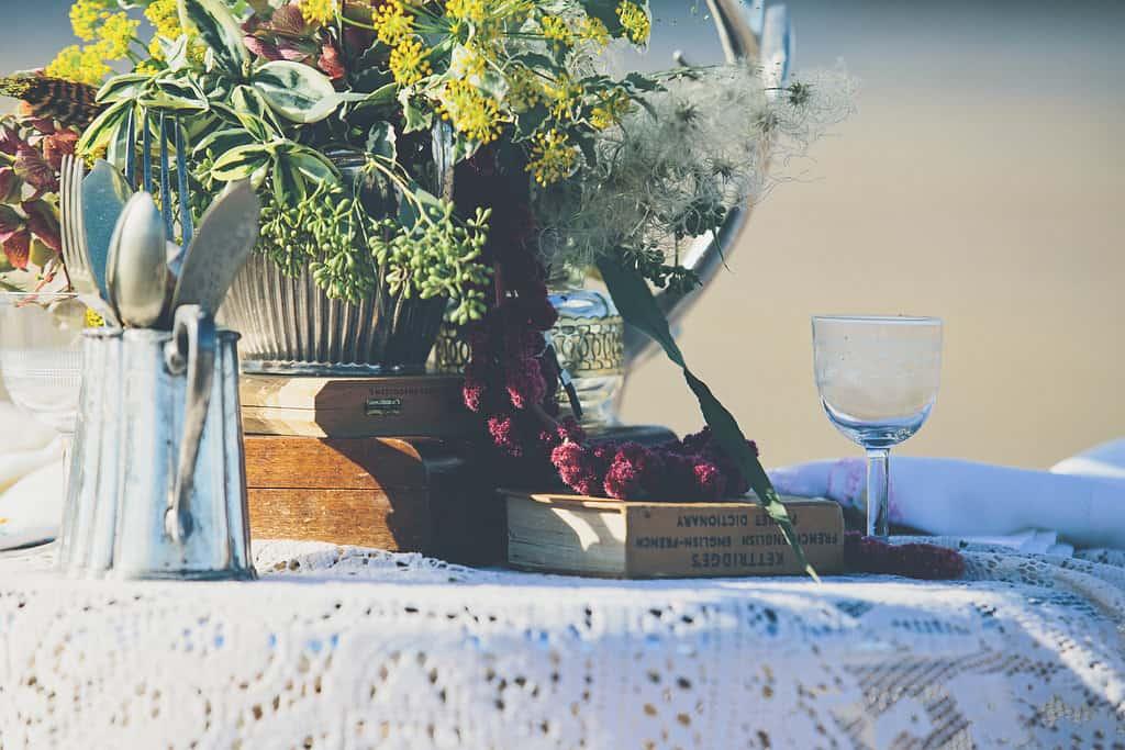 Bohemian Sequin Wedding Inspiration beach festival style 21