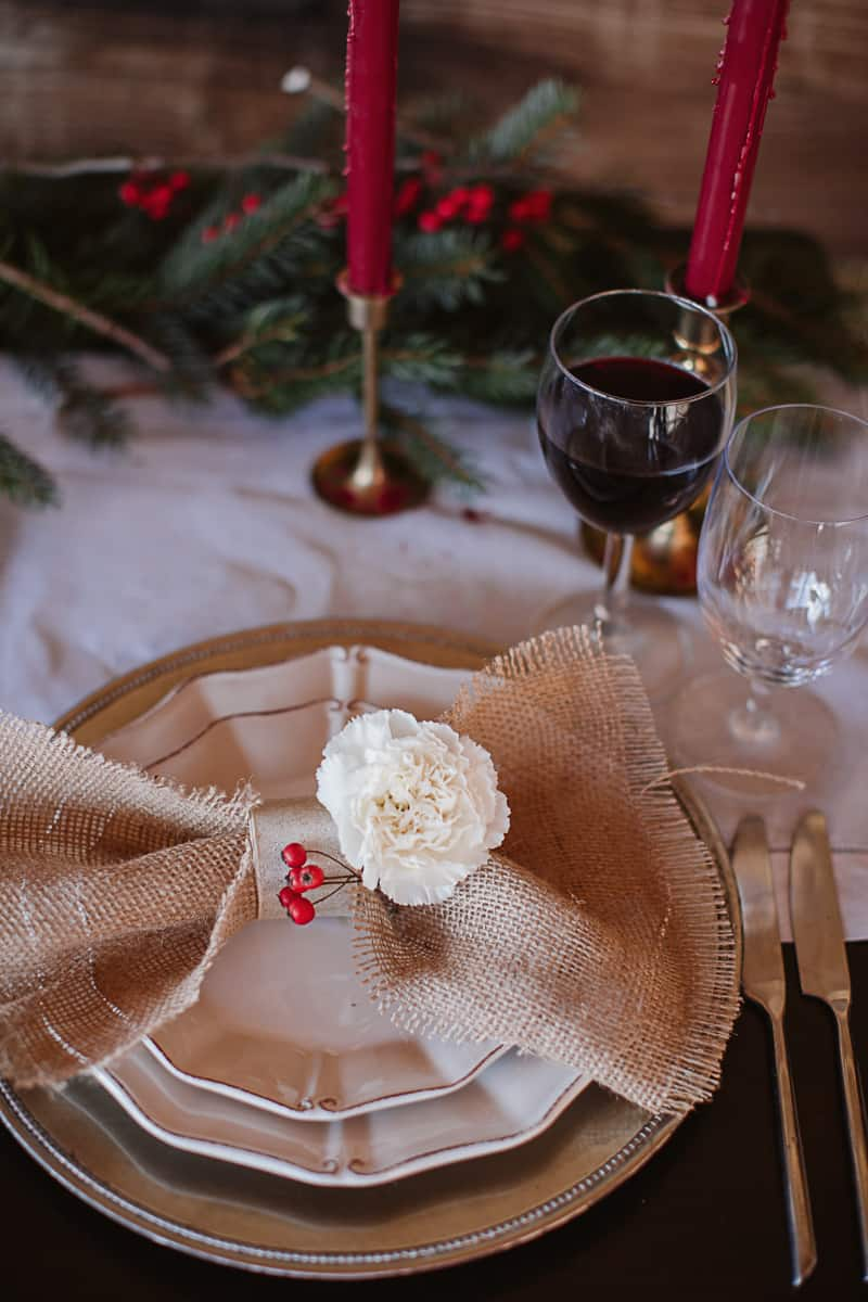 Christmas Bridal Brunch Log Cabin Hot Chocolate Festive Shoot-11
