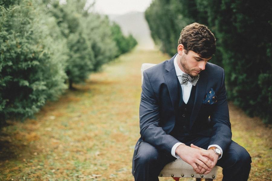 Festive Wedding Inspiration on a Christmas Tree Farm 3