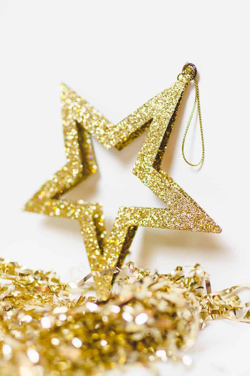 DIY New Years Eve Garland Cheers Chin Chin Banner Black & Gold ...