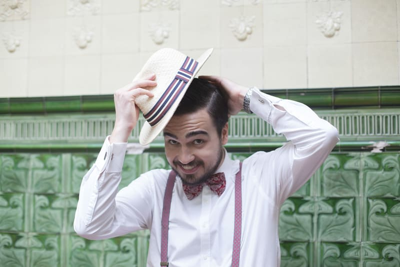 Quirky, Laid back styled wedding shoot at Victoria Baths Manchester (5)